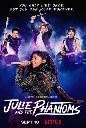 Julie e os Fantasmas - 1ª Temporada Completa Séries Torrent Download capa