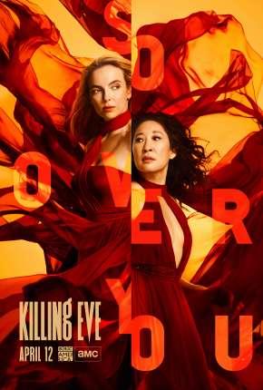 Killing Eve - Dupla Obsessão - 3ª Temporada Séries Torrent Download capa