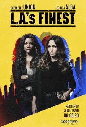 L.A.s Finest - Unidas Contra o Crime - 2ª Temporada Séries Torrent Download capa