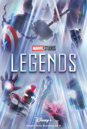 Lendas da Marvel - 1ª Temporada Legendada Séries Torrent Download capa