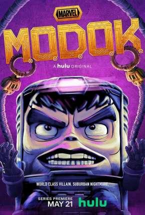 M.O.D.O.K. - 1ª Temporada Completa - Legendado Desenhos Torrent Download capa