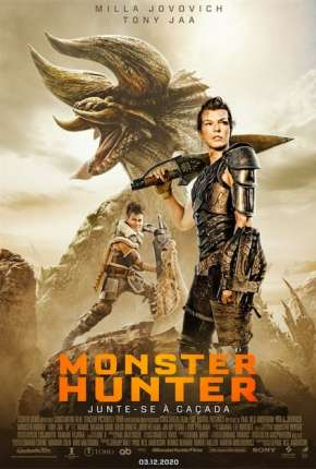 Monster Hunter Filmes Torrent Download capa