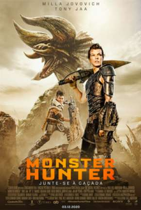 Monster Hunter - Legendado Filmes Torrent Download capa