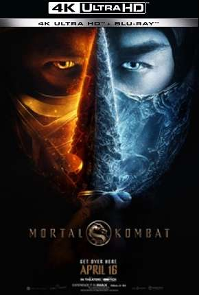 Mortal Kombat 4K Filmes Torrent Download capa