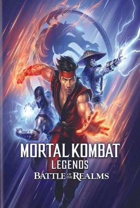 Mortal Kombat Legends - A Batalha dos Reinos Filmes Torrent Download capa