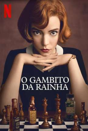 O Gambito da Rainha - 1ª Temporada Séries Torrent Download capa