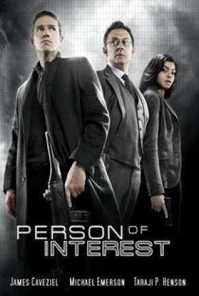 Person of Interest - Pessoa de Interesse 1ª Temporada Séries Torrent Download capa