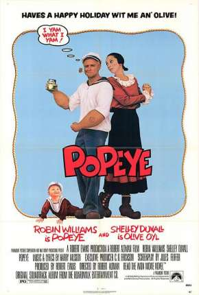 Popeye Filmes Torrent Download capa