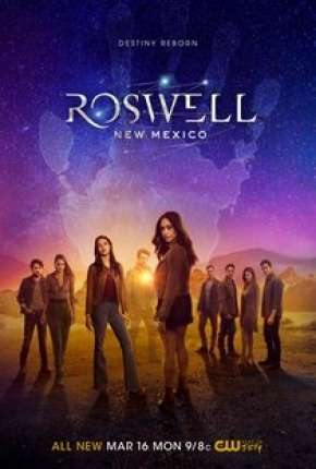 Roswell, New Mexico - 2ª Temporada Séries Torrent Download capa