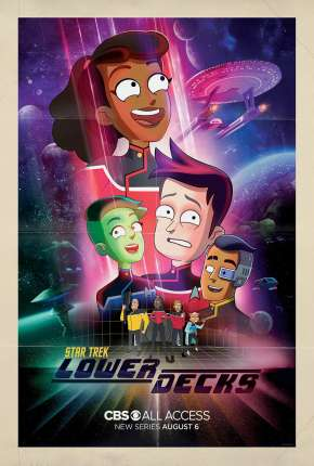 Star Trek - Lower Decks - 1ª Temporada - Legendado Desenhos Torrent Download capa