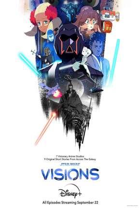 Star Wars - Visions - 1ª Temporada - Legendado Desenhos Torrent Download capa