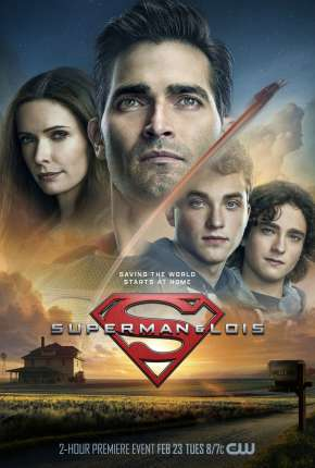 Superman e Lois - 1ª Temporada Séries Torrent Download capa
