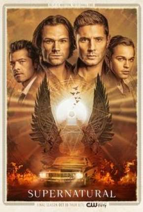 Supernatural - Sobrenatural 15ª Temporada Completa Séries Torrent Download capa