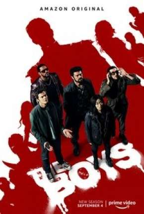 The Boys - Os Rapazes - 2ª Temporada Séries Torrent Download capa