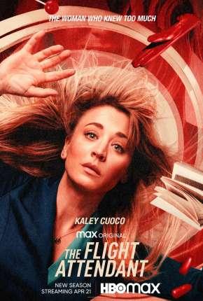 The Flight Attendant - 1ª Temporada Completa Séries Torrent Download capa