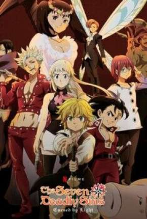 The Seven Deadly Sins Cursed by Light Filmes Torrent Download capa