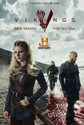 Vikings - 3ª Temporada - Versão Estendida Completa Séries Torrent Download capa