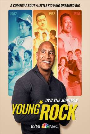 Young Rock - 1ª Temporada Legendada Séries Torrent Download capa